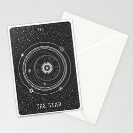 Minimal Tarot  Deck The Star Stationery Cards