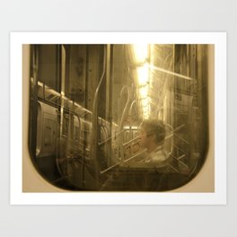 Subway dreams Art Print