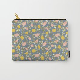 Macarons and Sprinkles - Blue Grey Carry-All Pouch