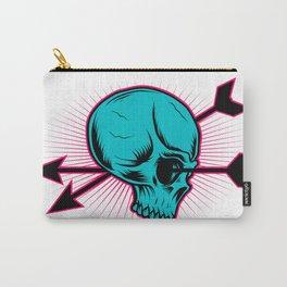 Skull Arrow Carry-All Pouch