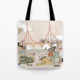 City of animamaly Tote Bag