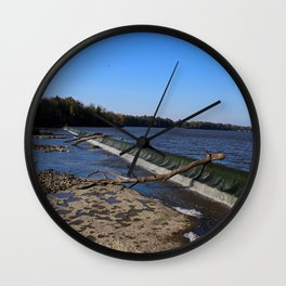 Providence Dam IV Wall Clock