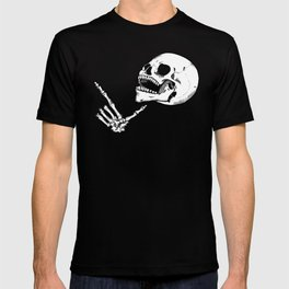 Finger Gun Skelly T-shirt