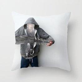 Having fun Throw Pillow