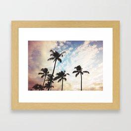 Dreaming Of Hawaii Framed Art Print