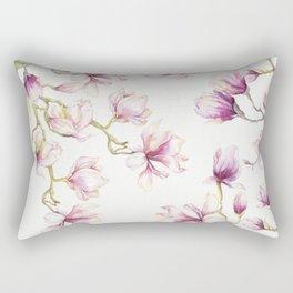 Delicate Magnolia 2 Rectangular Pillow
