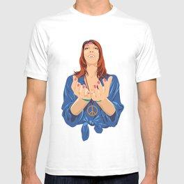 Hippy Girl  T-shirt