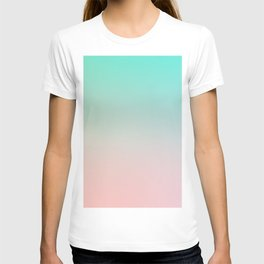 HEAVY RAINS - Minimal Plain Soft Mood Color Blend Prints T-shirt