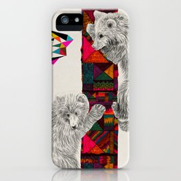 The Innocent Wilderness by Peter Striffolino and Kris Tate iPhone Case