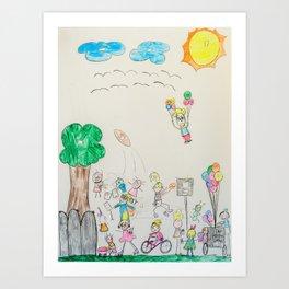 Kelly Bruneau #9 Art Print