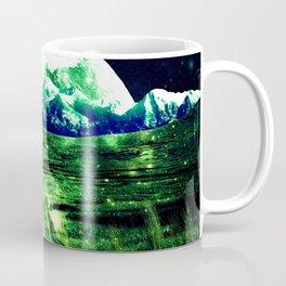 Highway to Eternity  Green Blue Coffee Mug
