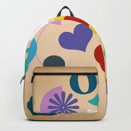 flowers pattern 3 Backpack