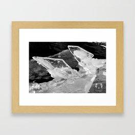 Ice Ice Baby Framed Art Print