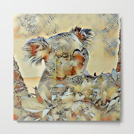 Animal ArtStudio -awesome Koala Metal Print