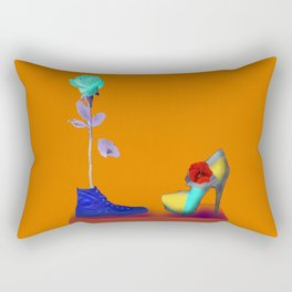 Proposal to May in May - Shoes stories Rectangular Pillow