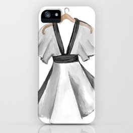 Kimono dress design iPhone Case
