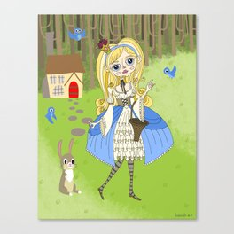 Lolita Princess Canvas Print