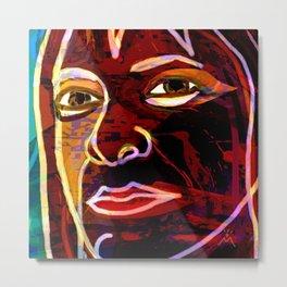 Awarita Woman Metal Print
