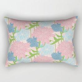 Pale Garden Rectangular Pillow