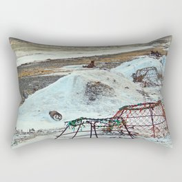 Crab Cages and The Cove Rectangular Pillow