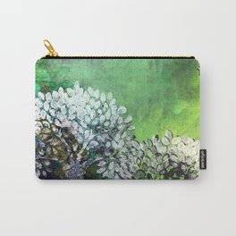 Secret life of (Green) Trees Carry-All Pouch