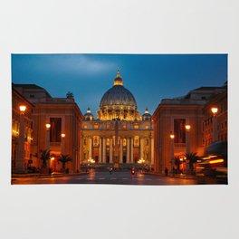 Basilica Papale di San Pietro in Vaticano - Rome - Italy Rug