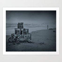 The Imagical Castle Art Print