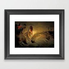 Allegory - Fantasy Art Framed Art Print