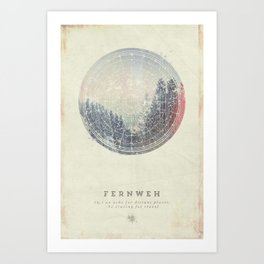Fernweh Vol 2 Art Print
