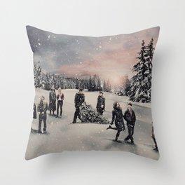Christmas / OUAT Group Throw Pillow