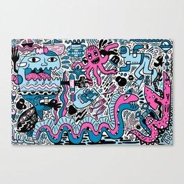 Ocean Mayhem Canvas Print