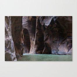 Overreach (The Narrows, Zion National Park, Utah) Canvas Print