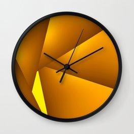 GeoSpin 1 Wall Clock