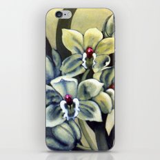 Green Orchids iPhone & iPod Skin