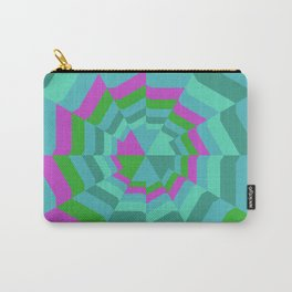 Hexagon Web Carry-All Pouch