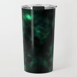 Digital Forest Cool Variant Travel Mug