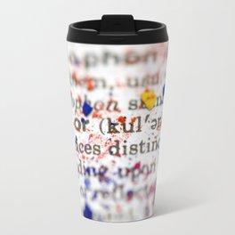 Color Definition Travel Mug