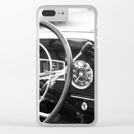 Classic Car Interior Clear iPhone Case