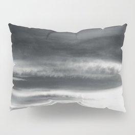 BLACK & WHITE TOUCHING #2 #abstract #decor #art #society6 Pillow Sham