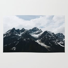 Mountains In Icefield Parkway Rug
