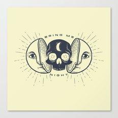 Kill the Sun, Bring Me Night Canvas Print