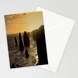 Sunset over the Twelve Apostles Stationery Cards
