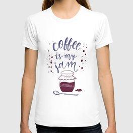 Coffee Is My Jam T-shirt