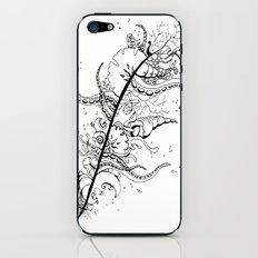 Abstract Art Unique Trending Bird Feather Sea Life Ocean Shells Sand Octopus  iPhone & iPod Skin