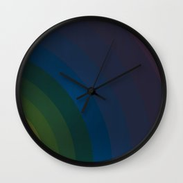Dark Fashion Background Wall Clock
