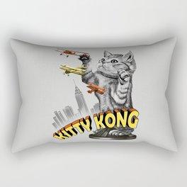 Kitty Kong Rectangular Pillow