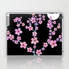 Cherry blossoms at night Laptop & iPad Skin