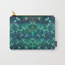 Magical Pond At Midnight Carry-All Pouch