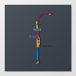 traffic signal2 Canvas Print
