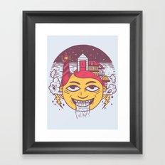 The Land of Headarea Framed Art Print